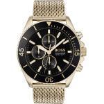 Boss Chronograph »OCEAN EDITION, 1513703«, goldfarben