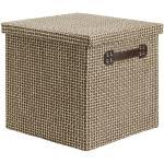 Box mit Deckel Foldable in Braun