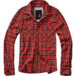 Brandit Checkshirt, Hemd S Rot/Schwarz/Weiß