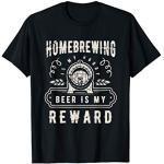 Brauerei Bierbrauer Hopfen Geschenk Starkbier T-Shirt