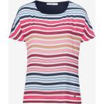 BRAX FEEL GOOD Streifenshirt mit subtilen Stylingdetails