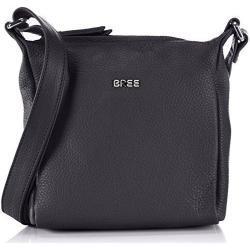 BREE Nola 1, blue, ladies' handbag grained 206250001 Damen Henkeltaschen 18x6x20 cm (B x H x T), Blau (blue 250)