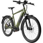 """breezer E Bike All Terrain Bike 650B Powerwolf Evo SM Mountainbike 27,5"""" EMTB (dunkelgrün, 43 cm)"""