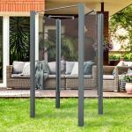 Breuer Garten-Dusche Set EXO 3-teilig inkl. 3x Glaselement 80 cm und 4x Pfosten