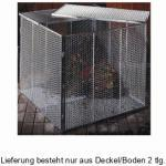 Brista Komposter-Deckel/Boden Streckmetall 80x80cm