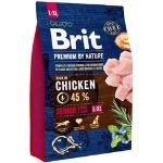 3 kg Brit Hundefutter mit Huhn