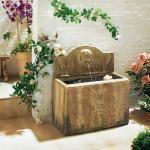 Brunnen Luca aus Polyresin