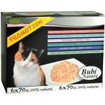 Bubi Nature Katze Katzenfutter 6 x 70g