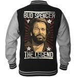 Schwarze Bud Spencer Herrenmode