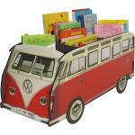 Bücherbus VW T1 Buchstütze und Zeitungsständer