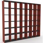 Bücherregal Terrakotta - Modernes Regal für Bücher: Hochwertige Qualität, einzigartiges Design - 272 x 233 x 35 cm, Individuell konfigurierbar