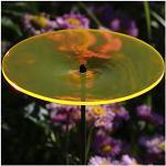 Bütic GmbH Plexiglas® Sonnenfänger Scheibe 14cm neon transparent fluoreszierend, Farbe:Neonorange