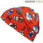 Buff Kids Microfiber & Polar Hat Hello Kitty Foodie Red
