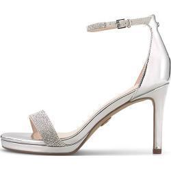Buffalo High-Heel-Sandalette MONROE silber Damen