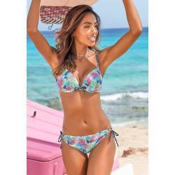 Pinke Buffalo Push Up Bikinis Handwäsche für Damen Größe M