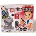 Buki Mikroskop set mit 30 Experimenten