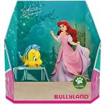 Bullyland 13437 - Spielfiguren Set, Disney Prinzessin - Arielle und Fabius, Geschenkbox, ideal als Torten-Figur, detailgetreu, PVC-frei, tolles Geschenk für Kinder zum fantasievollen Spielen