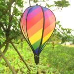 Bunt Ballon Windrad Heißluftballon Windspinner Windspirale Gartendeko