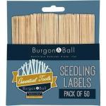 Burgon & Ball Pflanzschilder aus Holz - 50 Stück - 1 Set