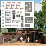 BUSCH 1171 H0 Ausgestaltungs-Set »Schlachterei«