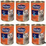 Butcher's Classic Cat Sorten Pack Fische mit Forelle in Jelly 12x400g (Rabatt für Stammkunden 3%)