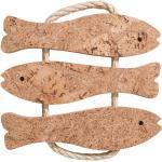 BUTLERS PORTO Kork Topfuntersetzer Fische L 21 x B 21cm
