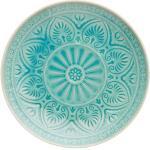 Bunte Asiatische Butlers Teller Durchmesser 25 cm glänzend