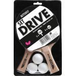 Butterfly Tischtennisschläger »DRIVE« (Set, 5-tlg., mit Bällen)