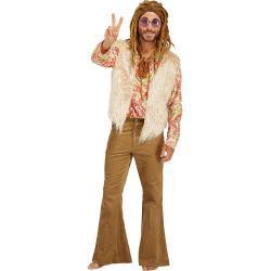 Bunte 70er Jahre Kostüme für Herren Größe M