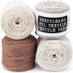 buttinette Textilgarn, Brauntöne, 1000 g