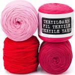 buttinette Textilgarn, Rottöne, 1000 g