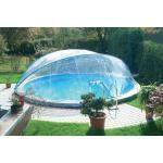 Runde Swimmingpools & Schwimmbecken mit Dach