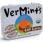 Café Express Mints von VerMints in Bio-Qualität (40 g) - organische Minz-Pastillen aus hochwertigen Zutaten - Geschmacksrichtung Kaffee - 100% natürlich, vegan, glutenfrei, bio-zertifiziert