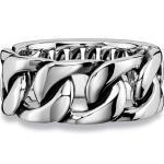 CAÏ Ring »925/- Sterling Silber rhodiniert«, weiß, weiß