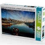 CALVENDO Puzzle Ein Bild aus dem Kalender Friesland - verzauberte Landschaft an der Nordsee / UK-Version 2000 Teile Lege-Größe 90 x 67 cm Foto-Puzzle Bild von Roder Peter
