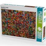CALVENDO Puzzle Gum Wall - Seattle 2000 Teile Lege-Größe 67 x 90 cm Foto-Puzzle Bild von Klinder Thomas