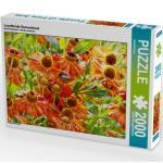 CALVENDO Puzzle Leuchtende Sonnenbraut 2000 Teile Lege-Größe 90 x 67 cm Foto-Puzzle Bild von Kruse Gisela