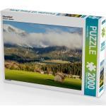 CALVENDO Puzzle Oberstdorf 2000 Teile Lege-Größe 90 x 67 cm Foto-Puzzle Bild von Klinder Thomas
