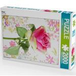 CALVENDO Puzzle Rose 2000 Teile Lege-Größe 67 x 90 cm Foto-Puzzle Bild von Kruse Gisela