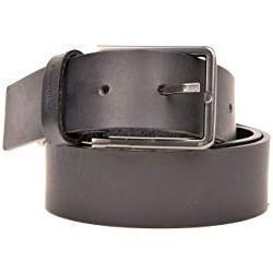 Calvin Klein Herren K50K505179 3.5 cm Essential Gürtel , Blau (Navy/Black 0Gy), One size (Herstellergröße: 100)