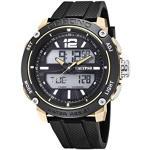 Calypso Herren Analog-Digital Gesteppte Daunenjacke Uhr mit Kunststoff Armband K5796/3