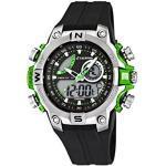 Calypso Jungen analog-digital Quarz Uhr mit Kautschuk Armband K5586/3