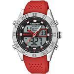 Calypso Watches Herren Analog-Digital Quarz Uhr mit Plastik Armband K5774/2