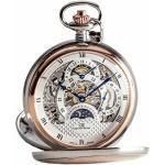 Carl von Zeyten Herren Skeleton Mechanik Uhr mit Edelstahl Armband CVZ0040RSL