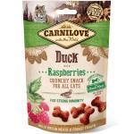 Carnilove Katze Crunchy Snack Ente mit Himbeeren 50 g