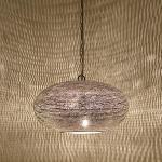 Casa Moro Orientalische Lampe Gizeh D28 cm Silber mit E14 Fassung | Kunsthandwerk & echte Handarbeit | Prachtvolle Pendellampe wie aus 1001 Nacht | EL2400