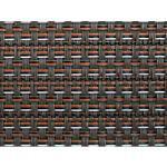 Casa Pura Teppich Modena Vinyl, Polyethylenterephthalat Schwarz, Braun 2900 mm x 2000 mm