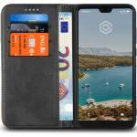 Casecentive Leder Wallet Case Huawei P20 Pro Schwarz