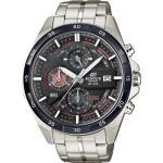Casio Chronograph Armbanduhr EFR-556DB-1AVUEF (L x B x H) 53.5 x 48.7 x 12.6 mm Silber/Weiß Gehäusematerial=Edelstahl Material (Armband)=Edelstahl (EFR-556DB-1AVUEF)