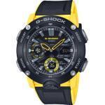 """Casio Herrenuhr G-Shock """"GA-2000-1A9ER"""", schwarz/gelb"""